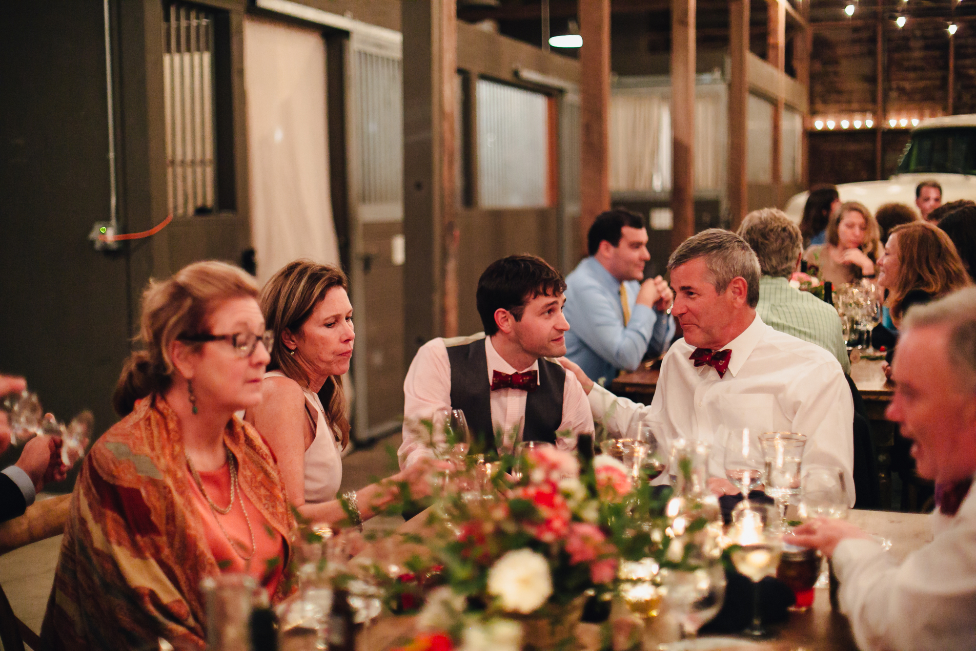 A sweet fall wedding at Bloomfield Farms in Petaluma, California.