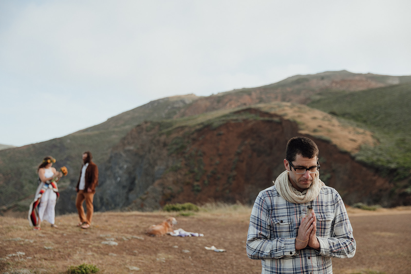 Marin Headlands Elopement Ceremony
