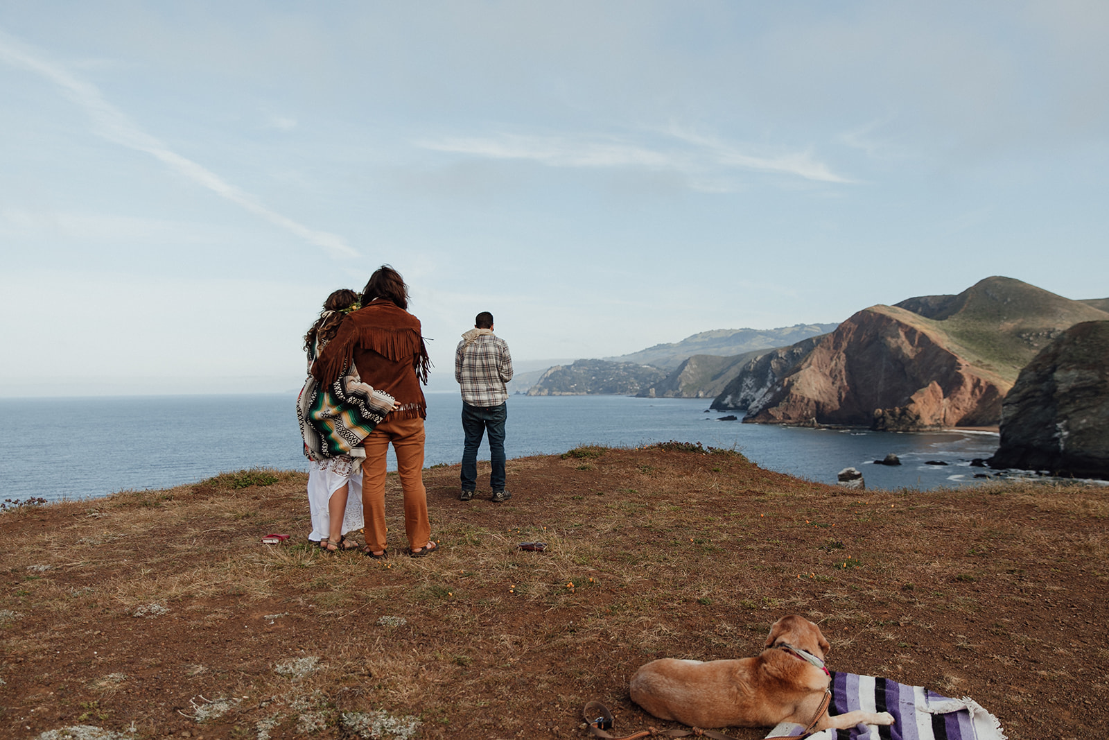 Marin Headlands Elopement at Sunrise
