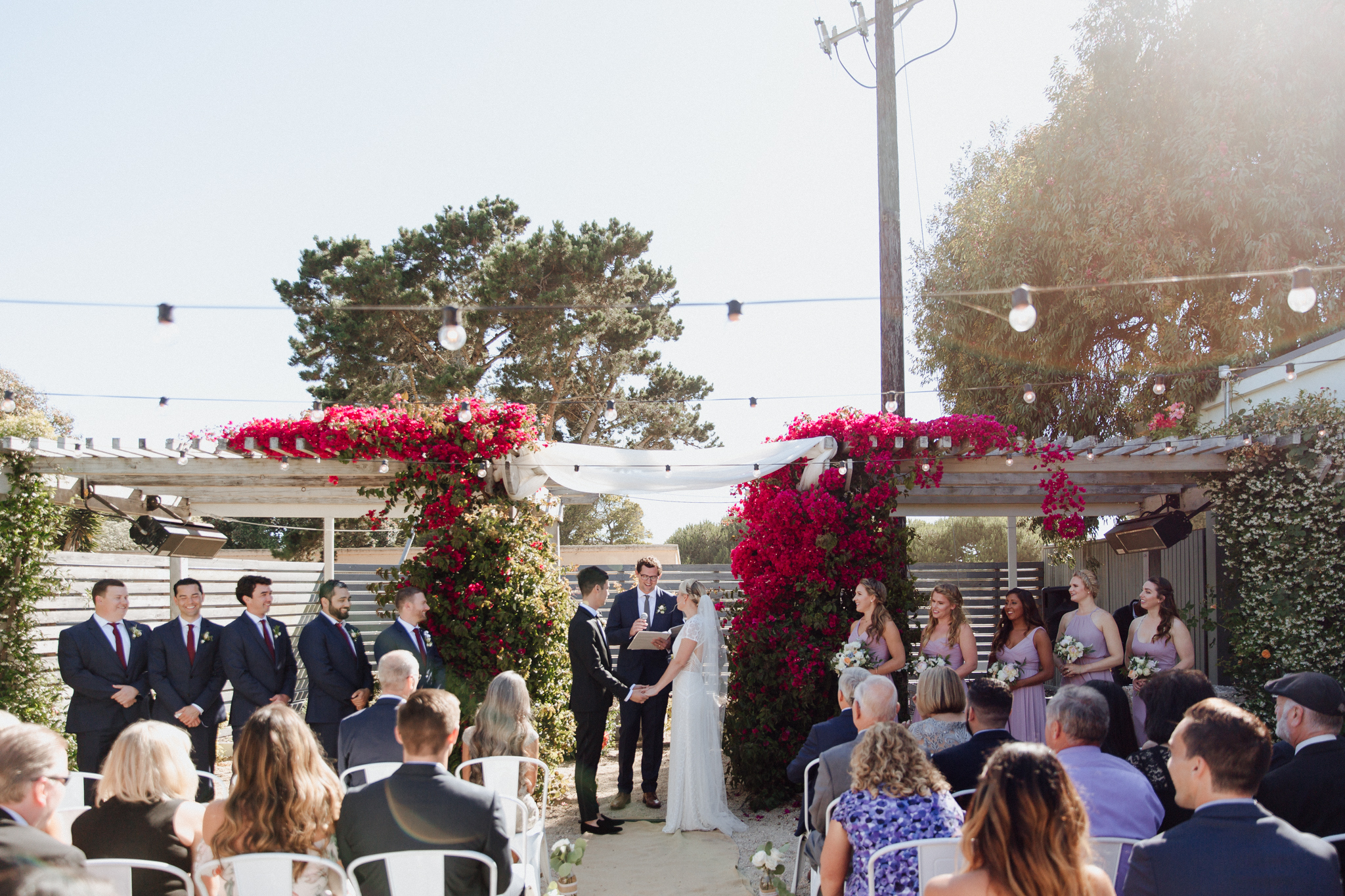 Aracely Cafe Wedding Ceremony