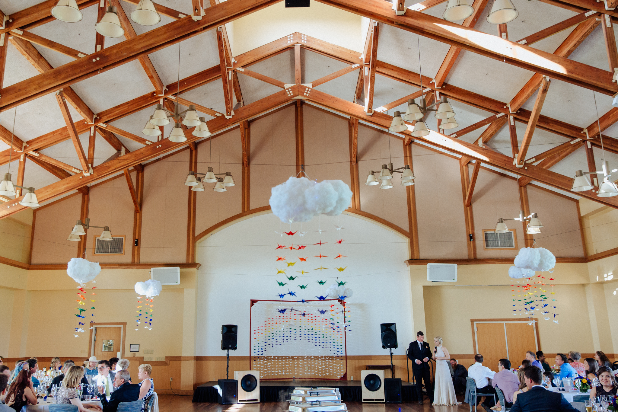Mill Valley Community Center Wedding