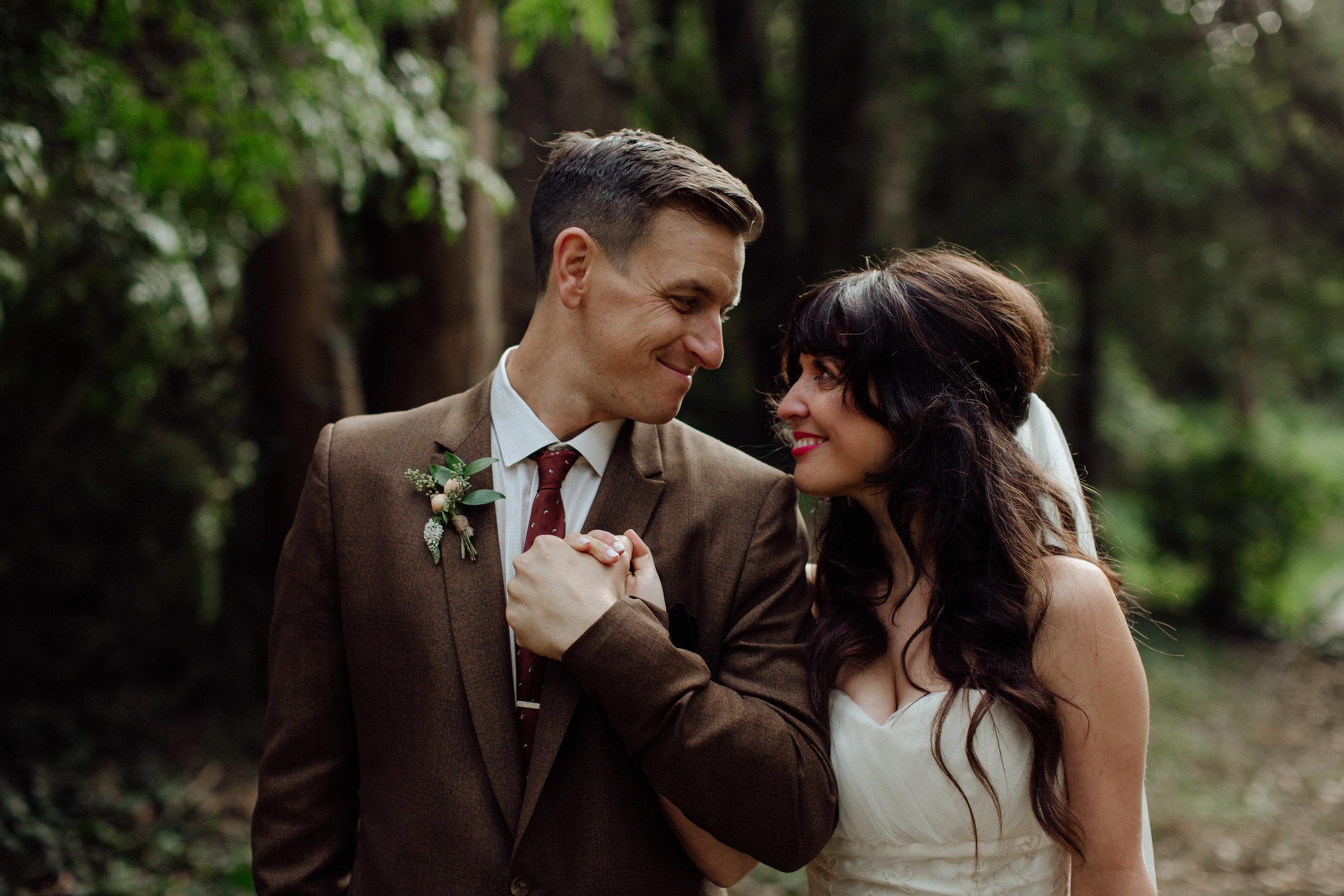 Whimsical wedding at Stern Grove