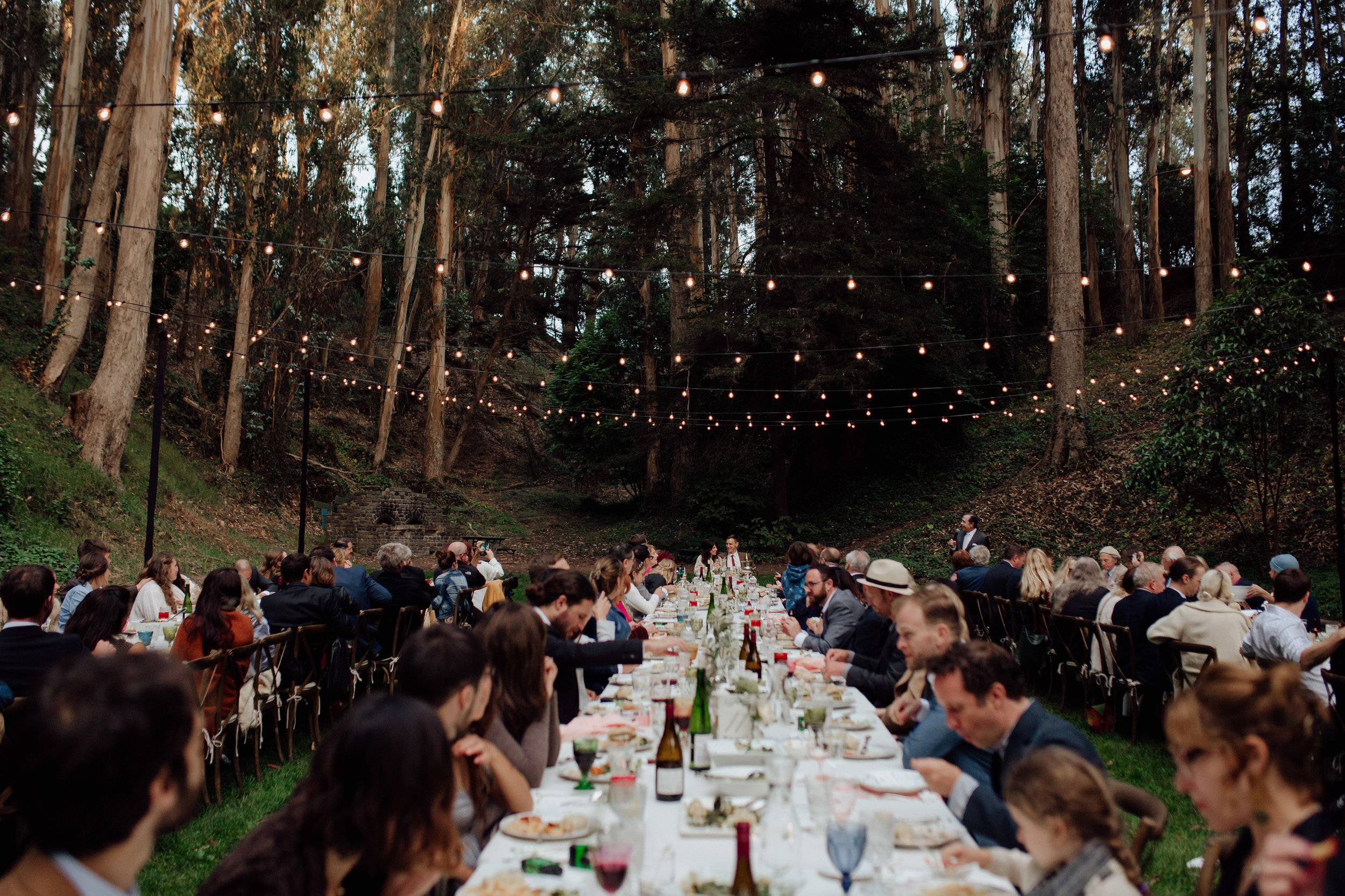 Whimsical wedding at Stern Grove