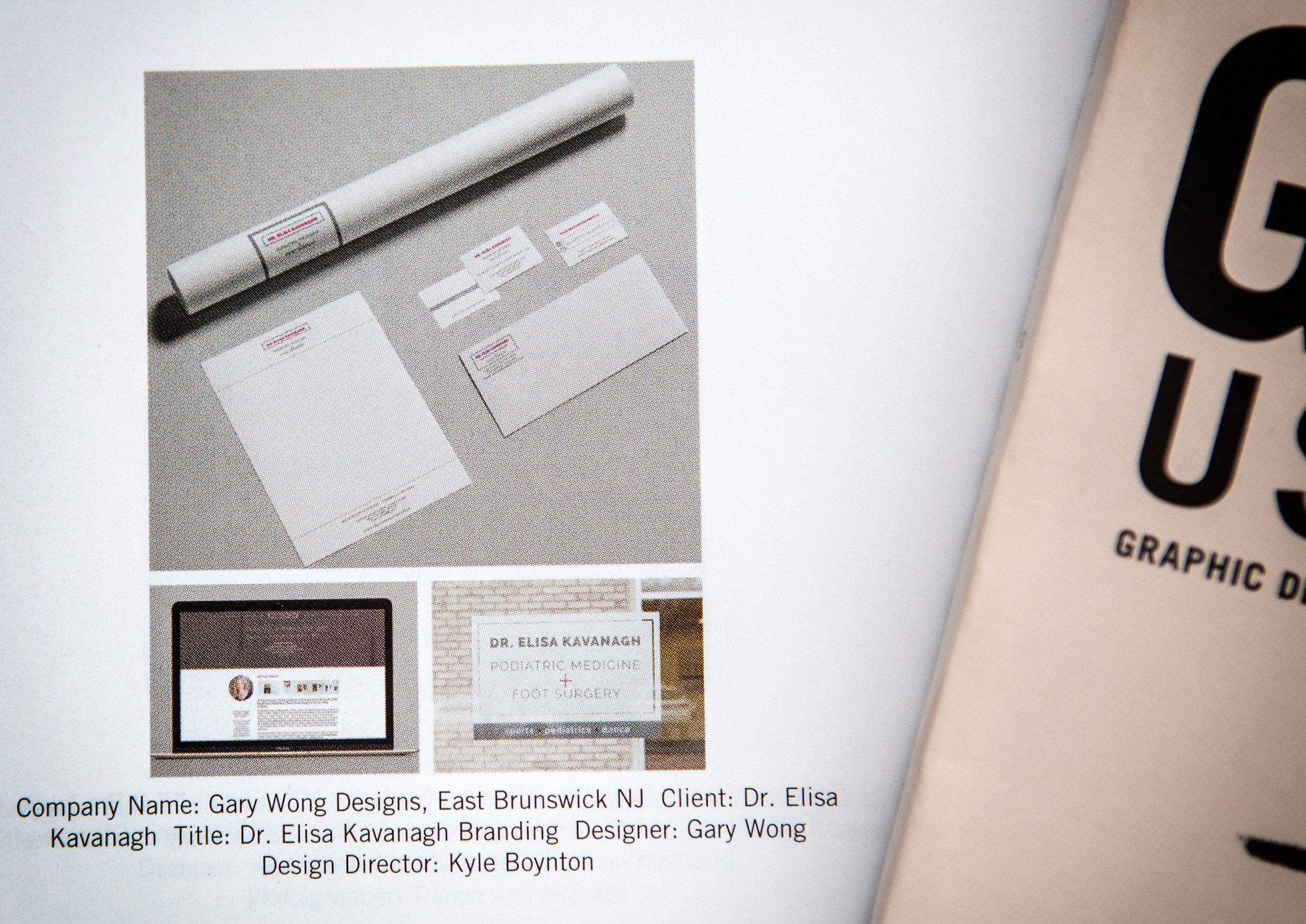 Category: Branding  Client: Dr. Elisa Kavanagh