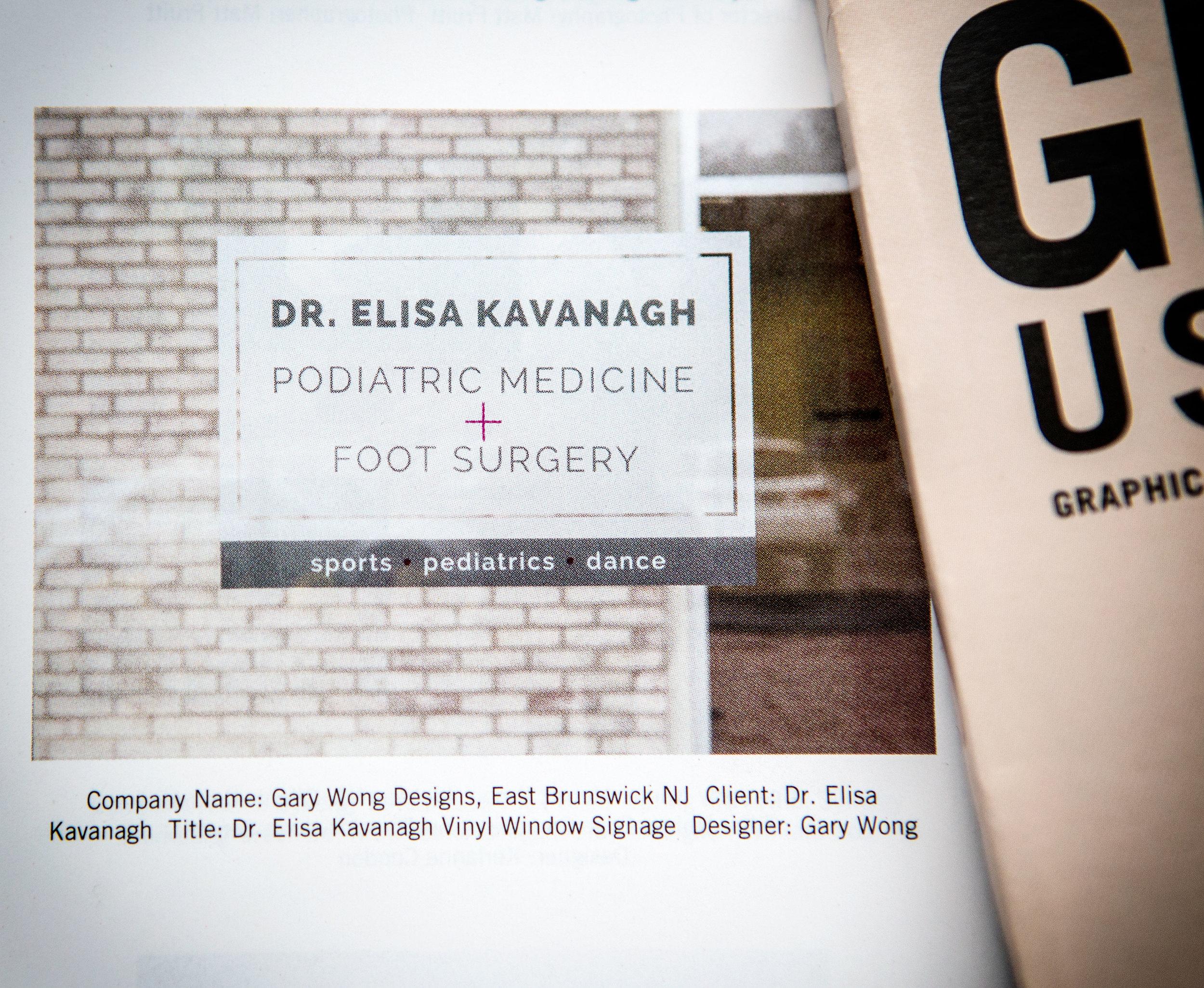 Category: Signage Client: Dr. Elisa Kavanagh