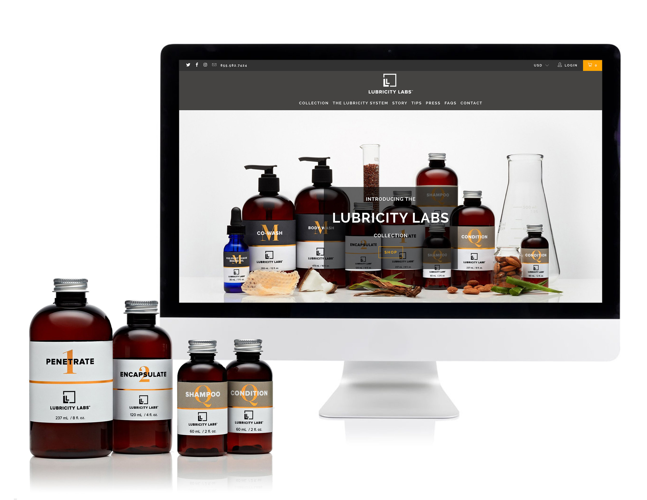Lubricity Labs Website