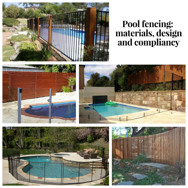 Pool fencing: materials, design and compliancy