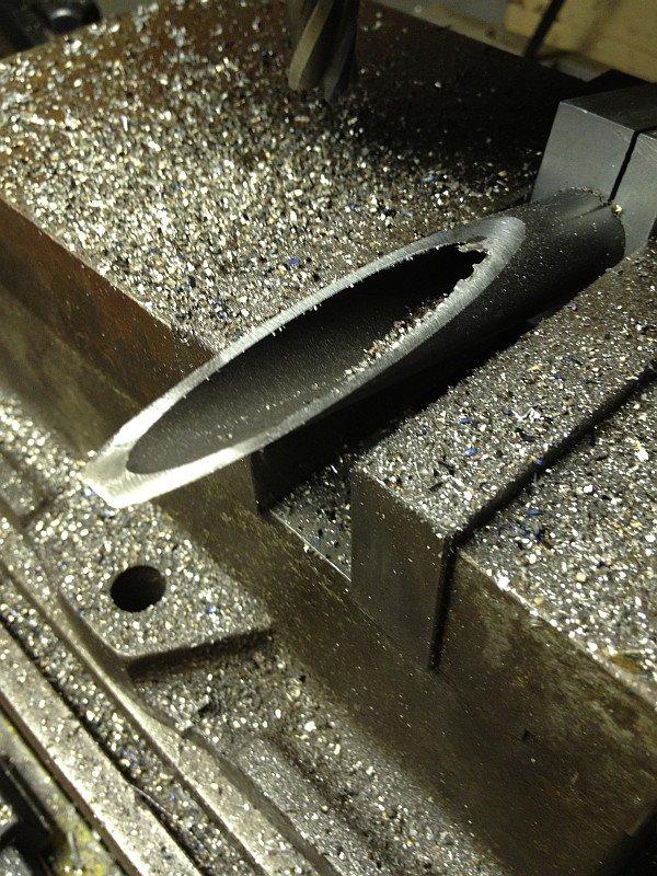 2012-07-11 05 streamliner machining first half first fork stanchion.jpg