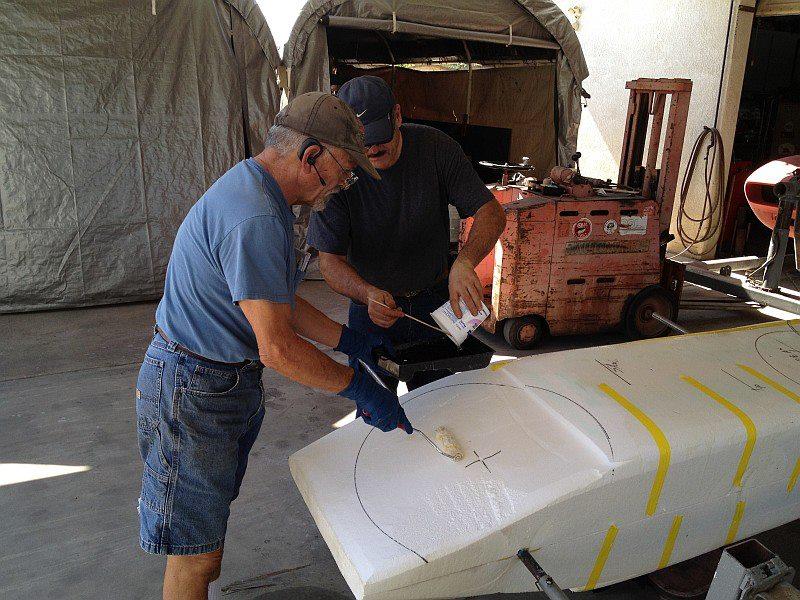 2012-07-27 08 applying epoxy resin to body tooling.jpg