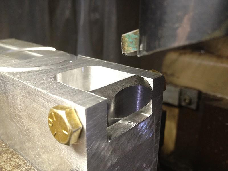2012-08-11 01 streamliner subframe pinch clamp boss fixture.jpg