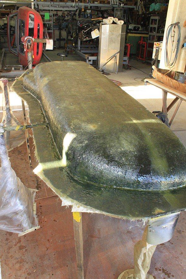 2012-08-27 18 body tooling 2nd layup 3 ounce fiberglass mat.jpg