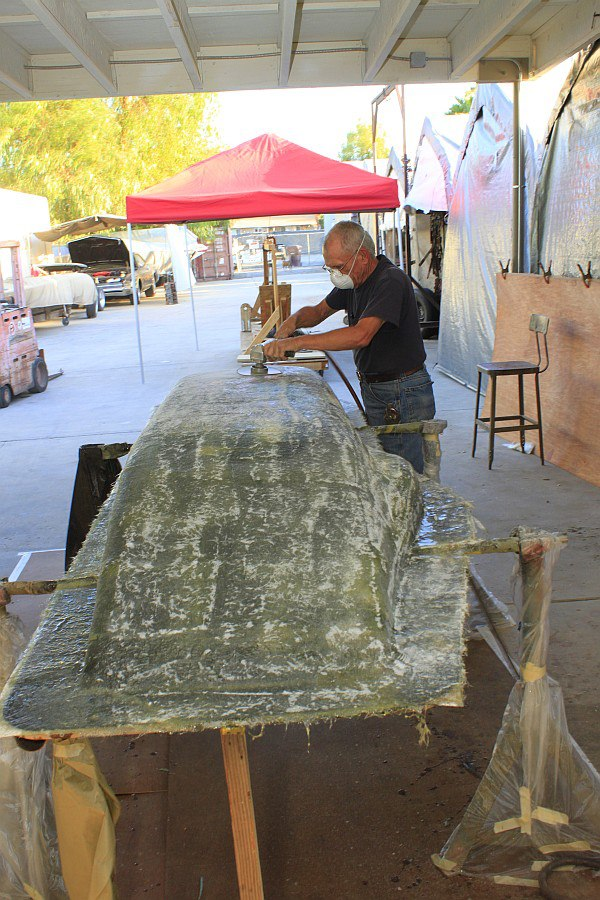2012-08-27 20 body tooling 2nd layup 3 ounce fiberglass mat.jpg
