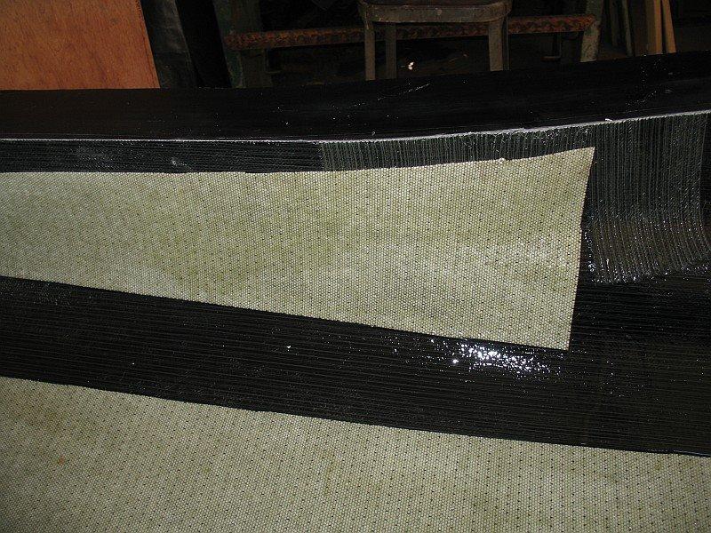 2012-08-31 19 streamliner body biaxial fiberglass 2mm core mat.jpg