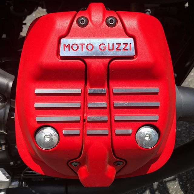 🎵 Get on your bad #MotoGuzzi and ride 🎵 #V7III