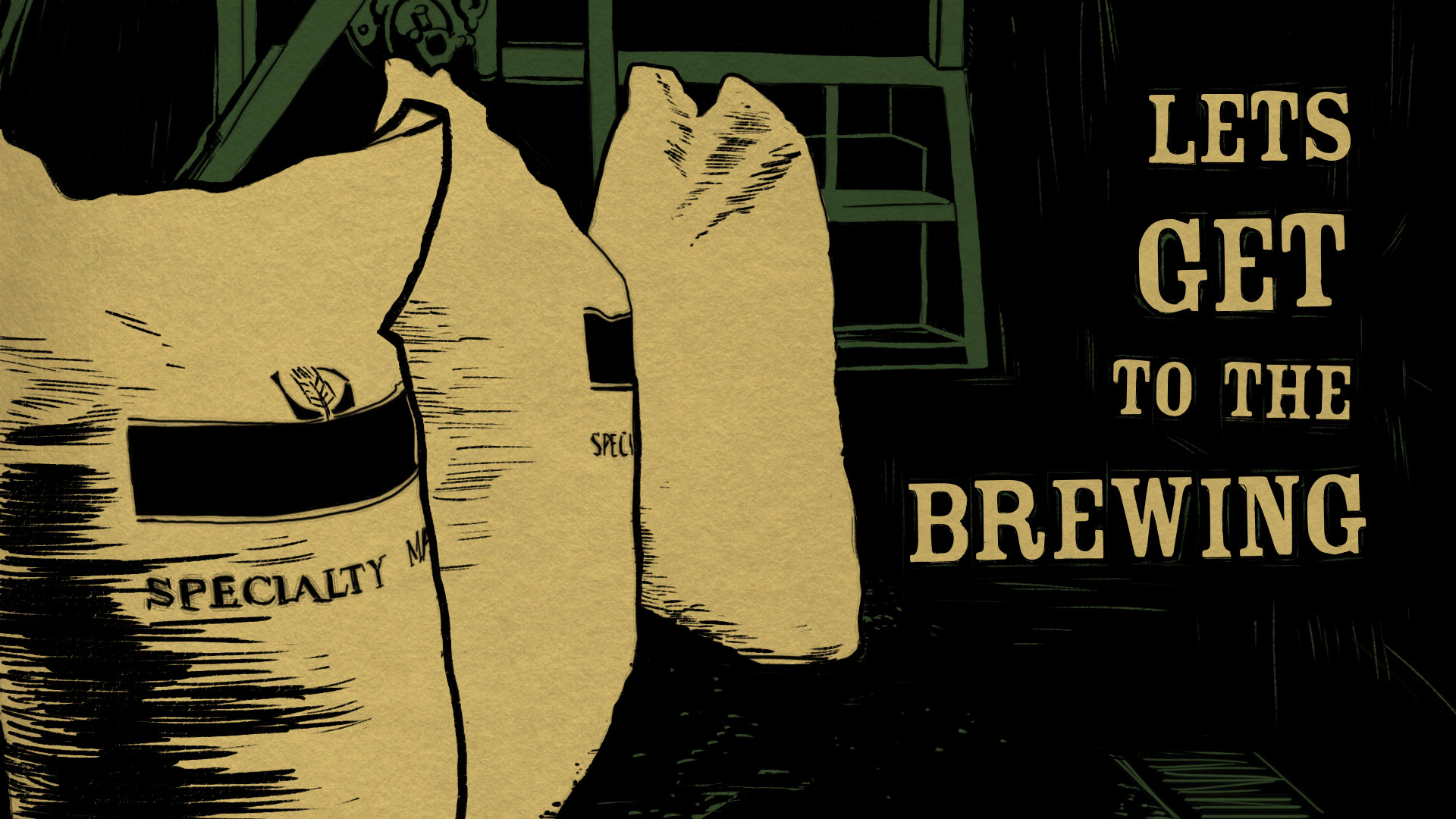 Let's get to the brewing Title Card.