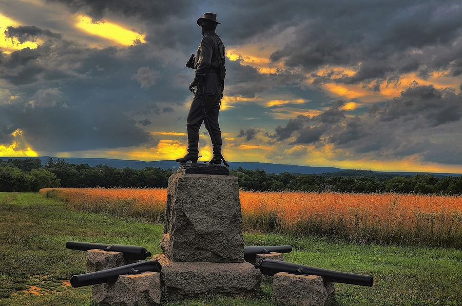 Statue of Brigadier General John Buford.Photo by Dave Sandt.