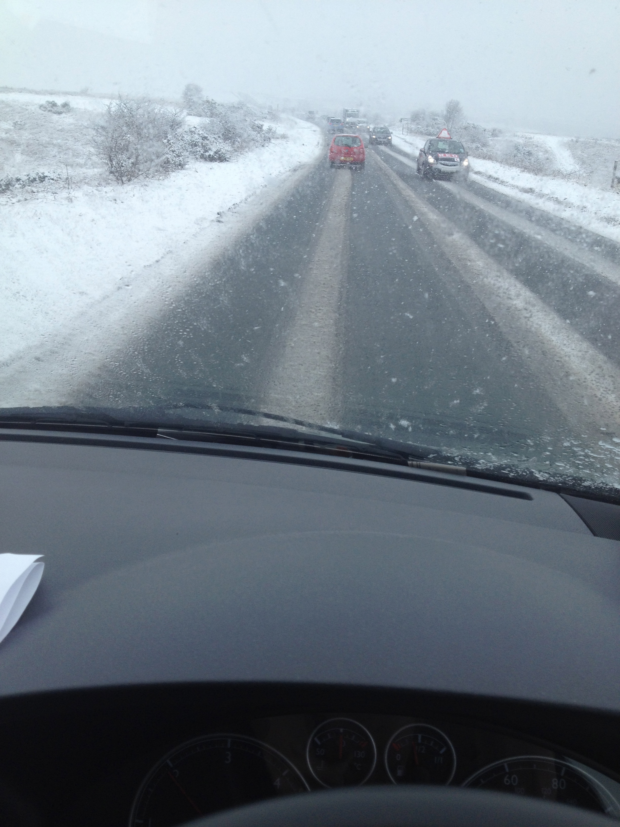 Driving around the UK can be challenging ...