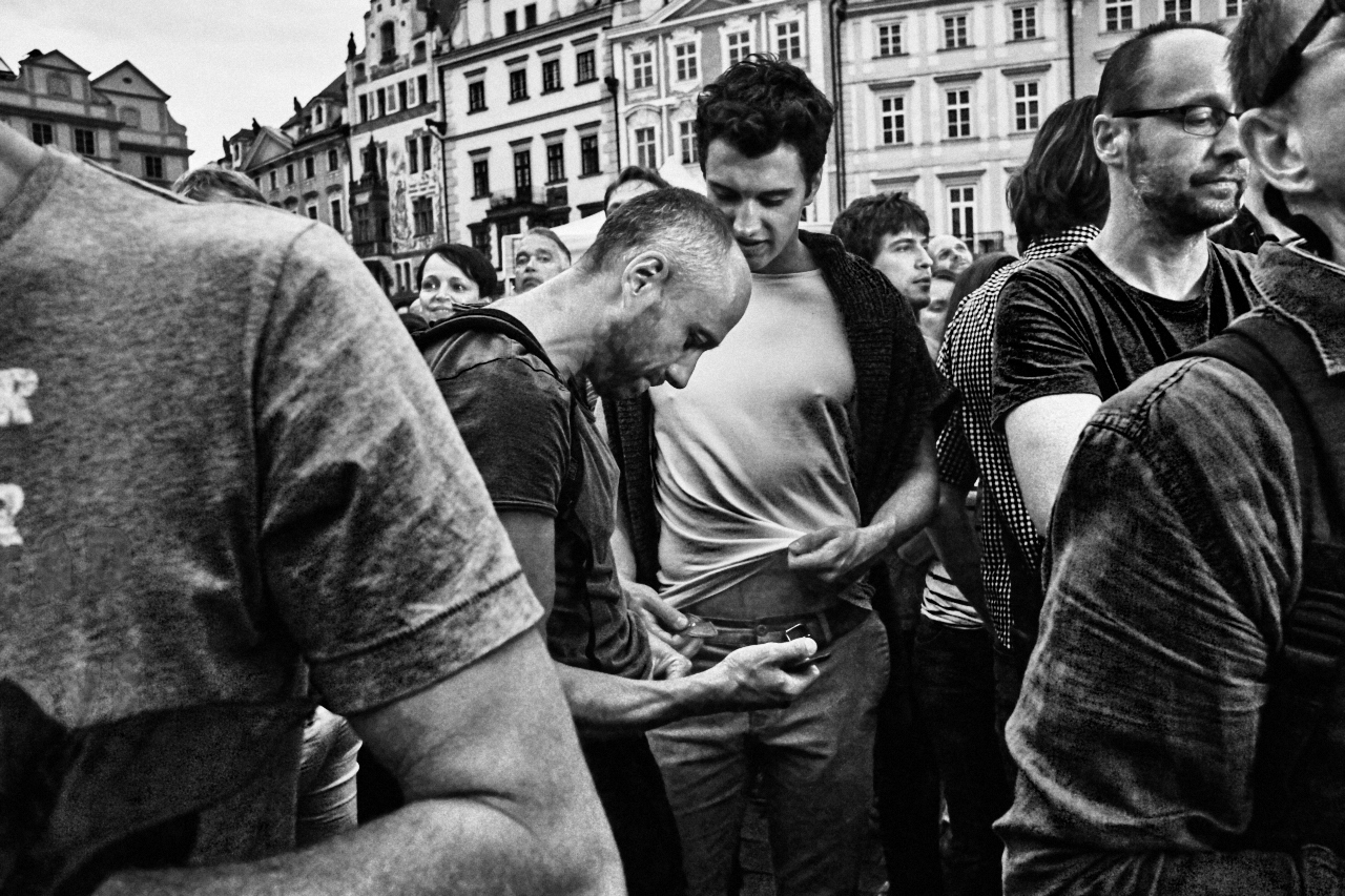 © Michal Fanta | Street Foto Prague - Untitled #41, 2015