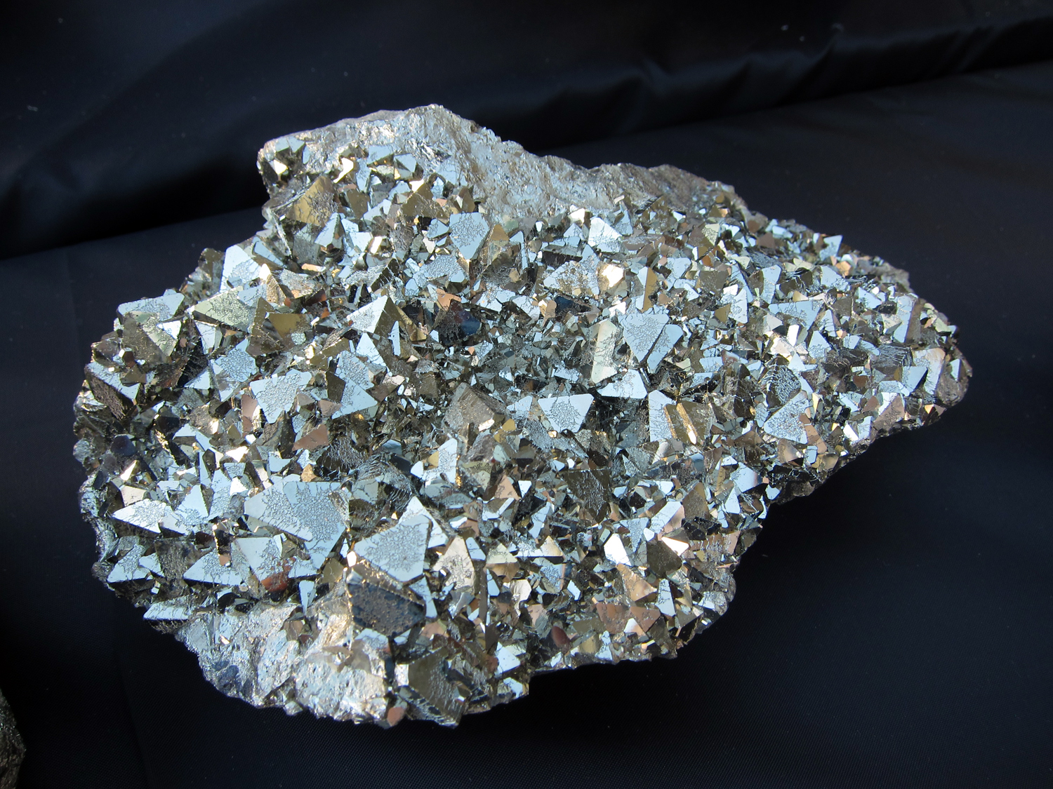 Pyrite is one of my favorite. The geometric, cubistic natural form of pyrite I find fascinating.