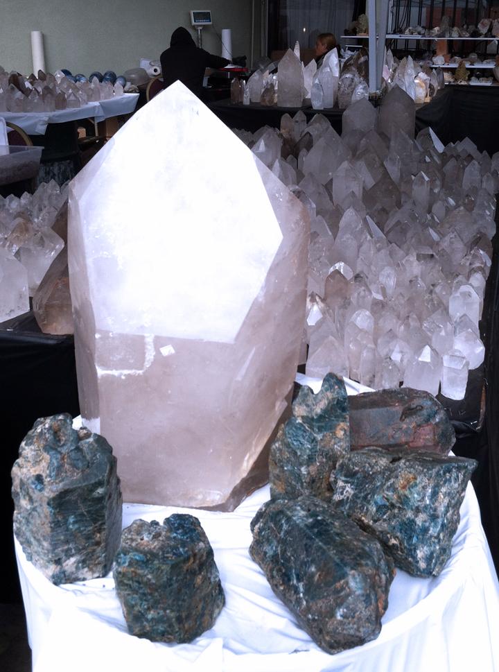 So many phantom crystals!