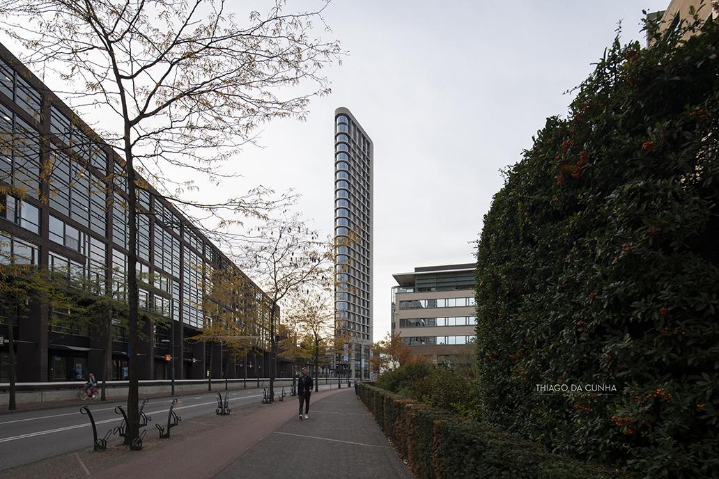 The Vesteda Tower in Eindhoven, Netherlands.