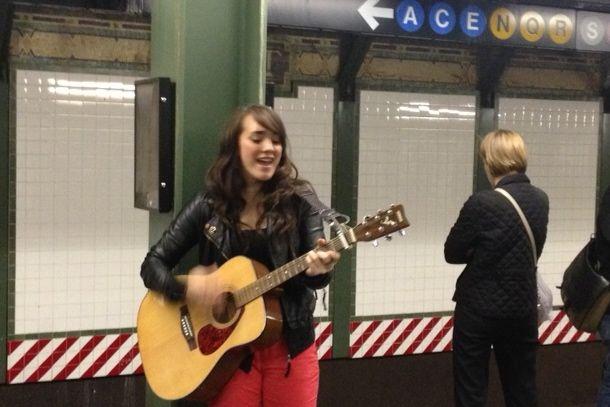 Brendan Padget pic subway girl.JPG