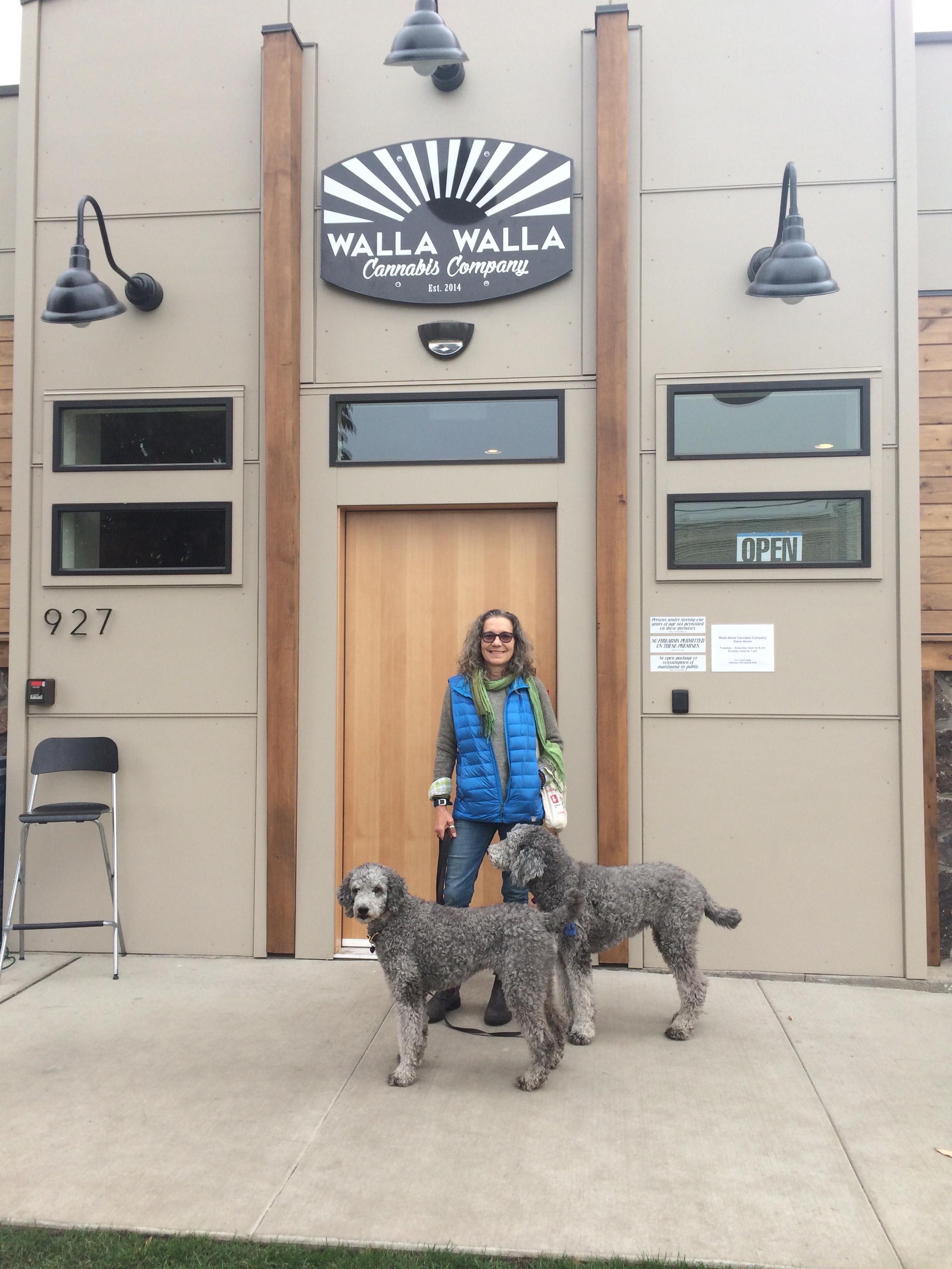 Walla Walla, WA with the poodles