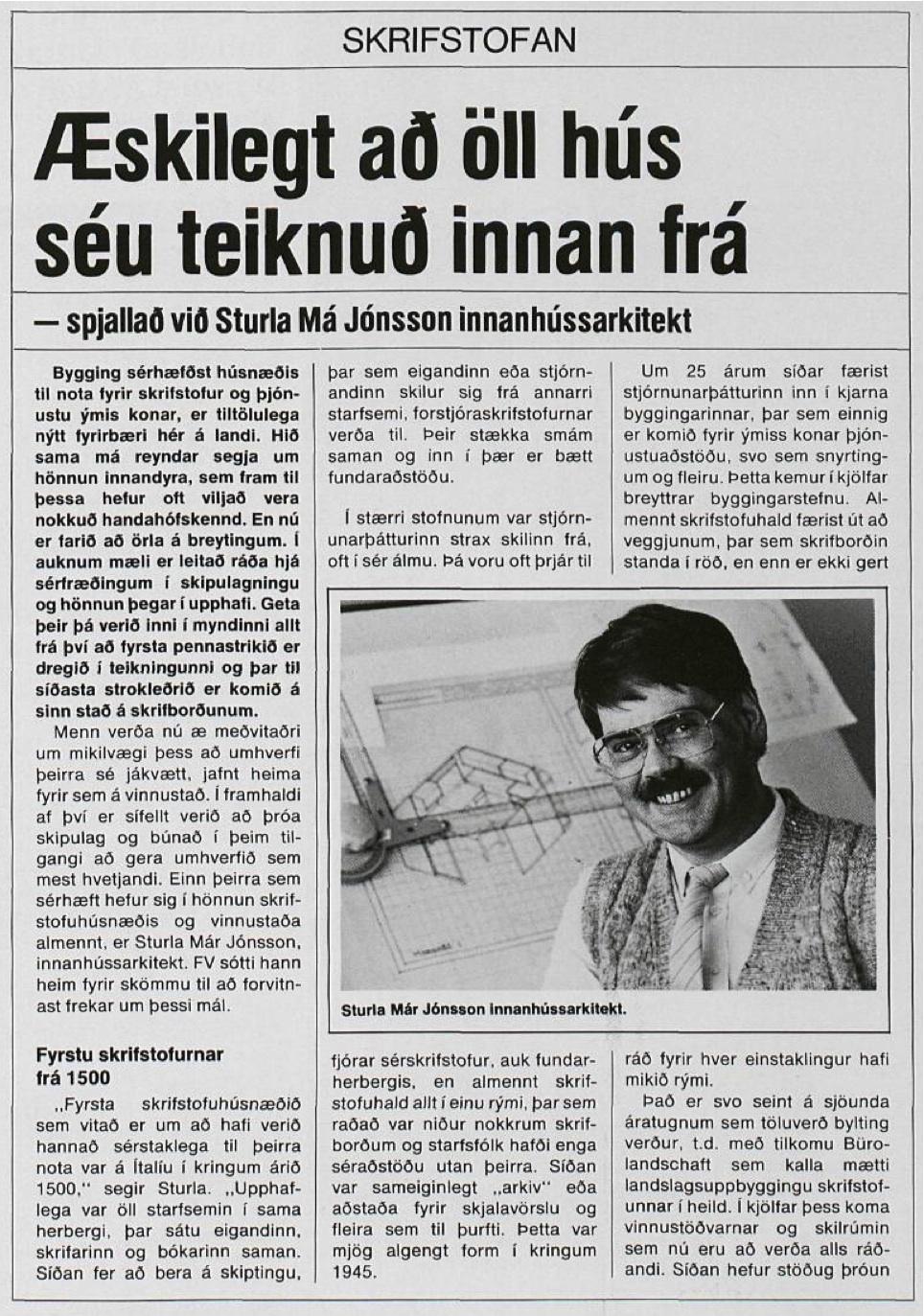 Frjáls verslun mars 1984