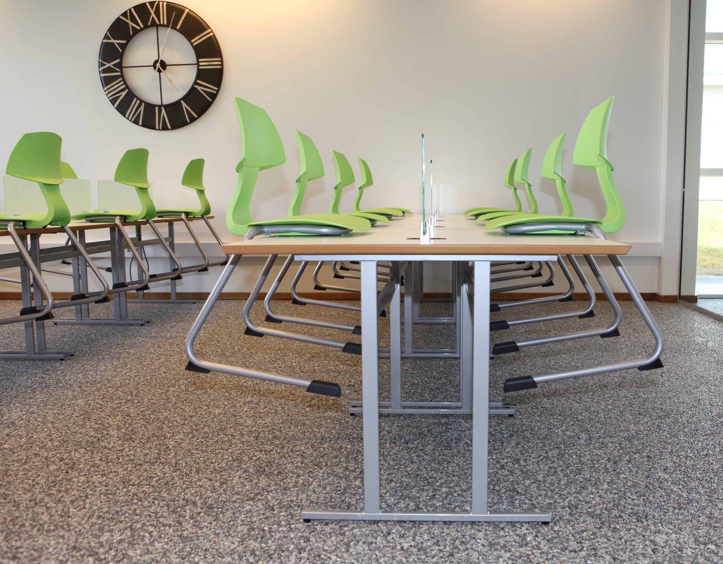 Lauf C-frame chairs