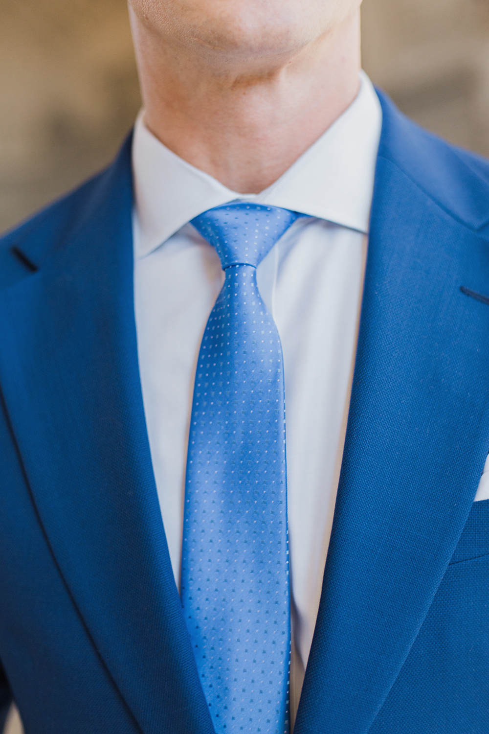 Simple portrait of groom during his wedding in San Francisco City Hall.