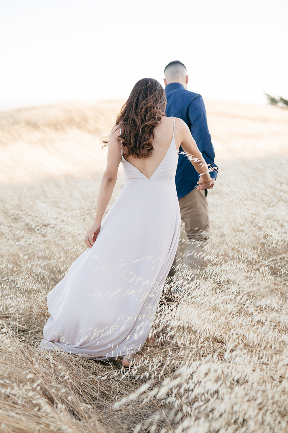 nancy and manuel's engagement session photos in mt. tamalpais california
