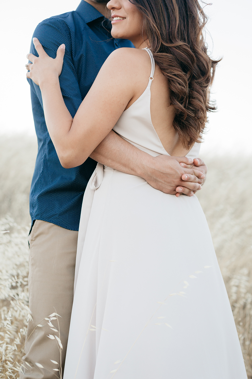 nancy and manuel's engagement session photos in mt. tamalpais california.