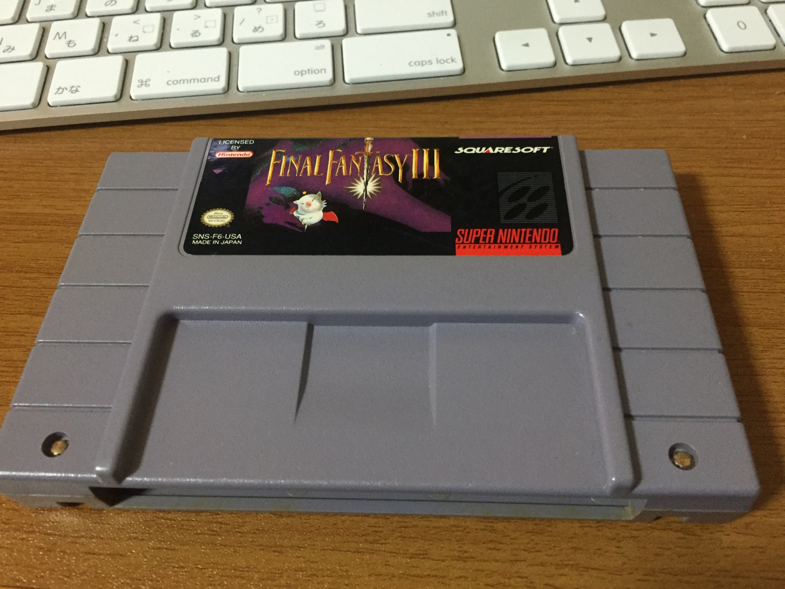 Turns out this is a 1.0 cart, so soon I will be running Sketch Glitch runs, maybe?