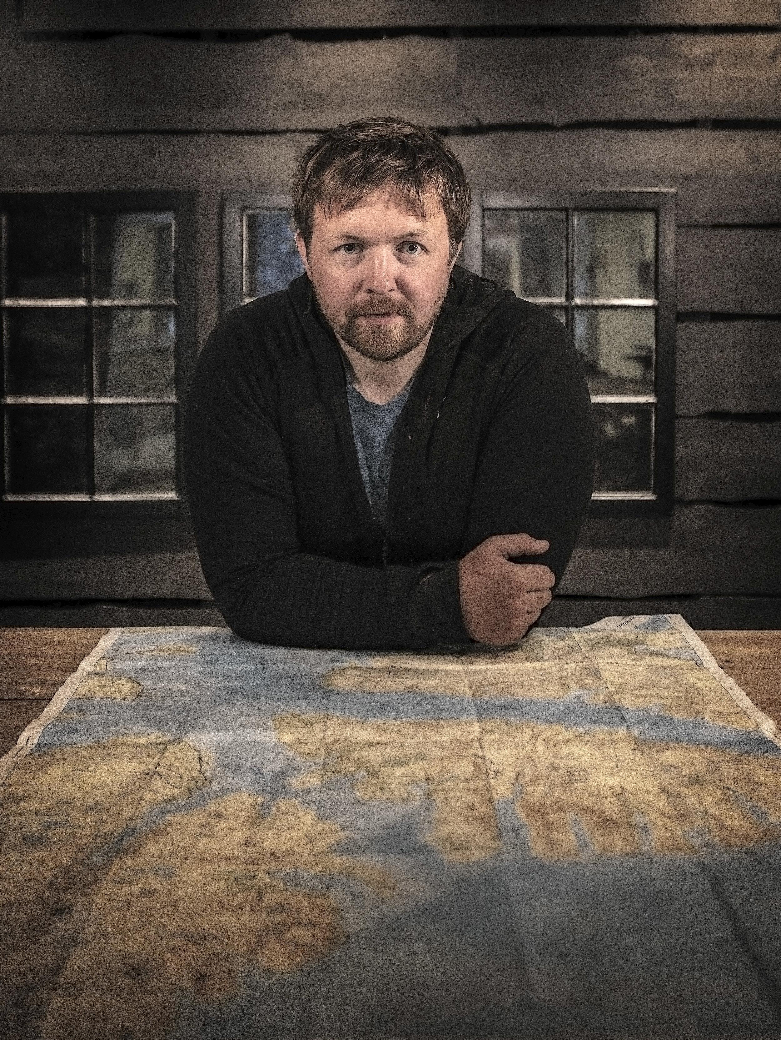ENTUSIAST: Vegard Uglebakken vil vise hvor variert naturen er i Alta og Finnmark.