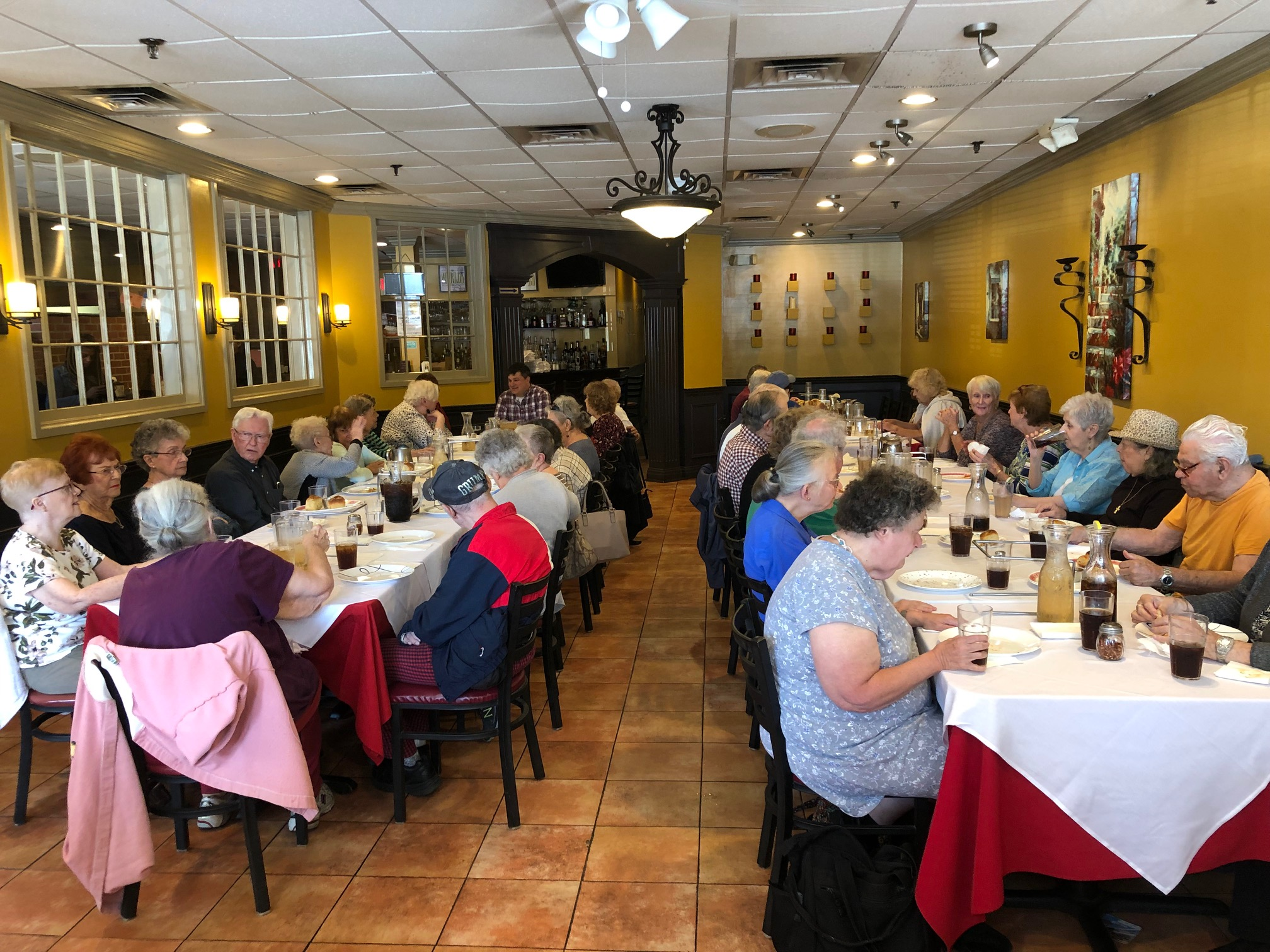 Senior Pizza Party - September 9, 2019
