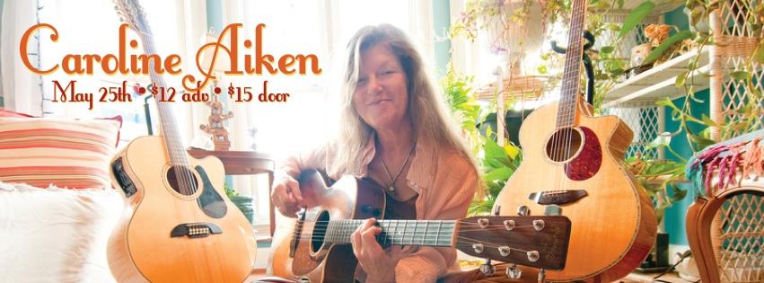 Caroline Aiken – May 25, 2013 – Red Light Café, Atlanta, GA