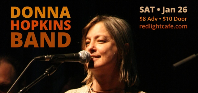 Donna Hopkins Band – January 26, 2013 – Red Light Café, Atlanta, GA
