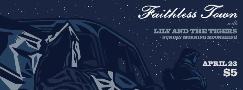 Faithless Town – April 23, 2013 – Red Light Café, Atlanta, GA