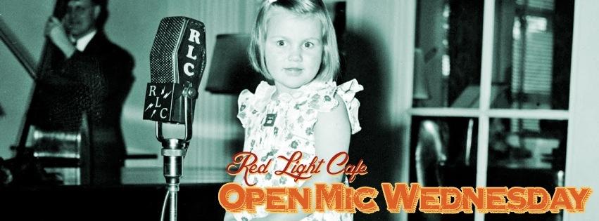 Open Mic Wednesday – May 29, 2013 – Red Light Café, Atlanta, GA