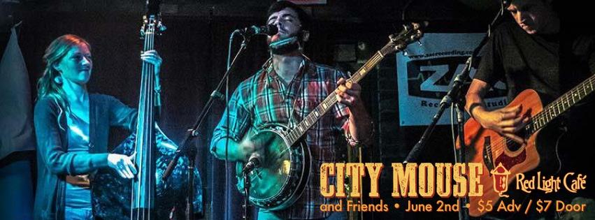 City Mouse and Friends – June 2, 2013 – Red Light Café, Atlanta, GA