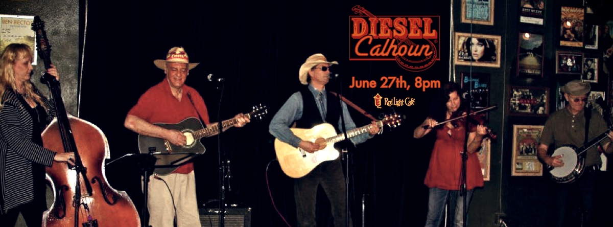 The Diesel Calhoun Band – June 27, 2013 – Red Light Café, Atlanta, GA