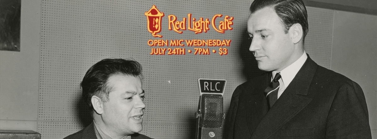 Open Mic Wednesday – July 24, 2013 – Red Light Café, Atlanta, GA