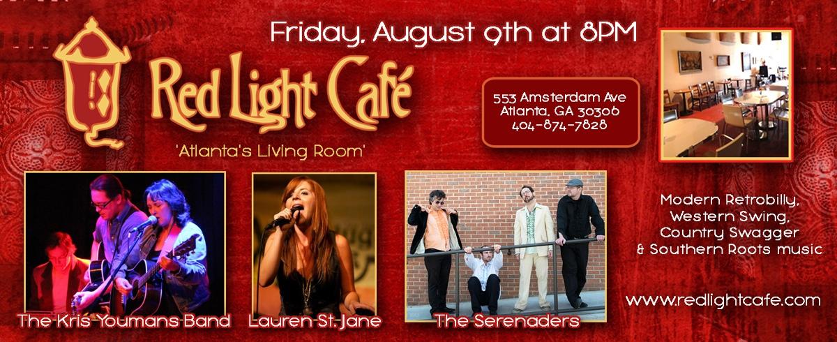 Kris Youmans Band – August 9, 2013 – Red Light Café, Atlanta, GA