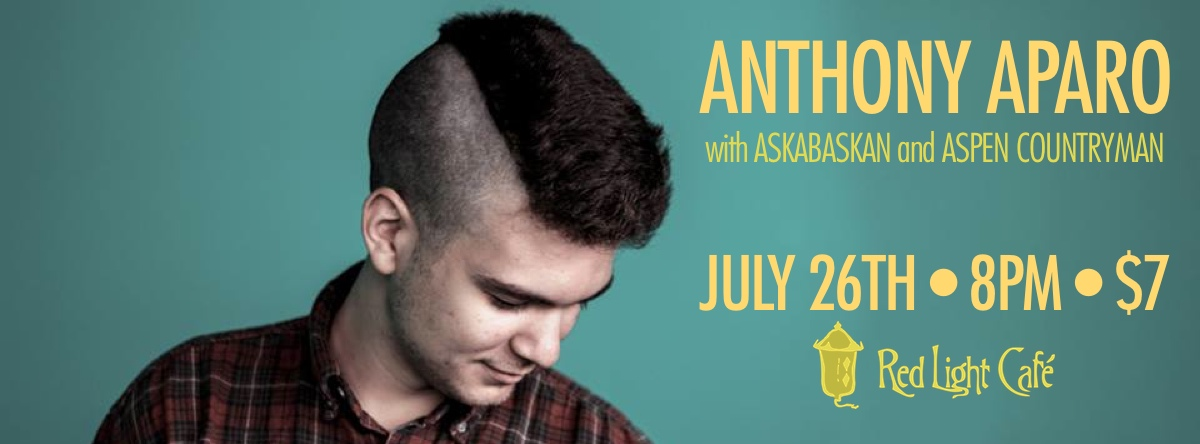 Anthony Aparo – July 26, 2013 – Red Light Café, Atlanta, GA