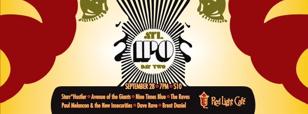 International Pop Overthrow Music Festival — Atlanta — Day Two – September 28, 2013 – Red Light Café, Atlanta, GA