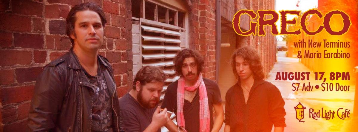 Greco — August 17, 2013 — Red Light Café, Atlanta, GA