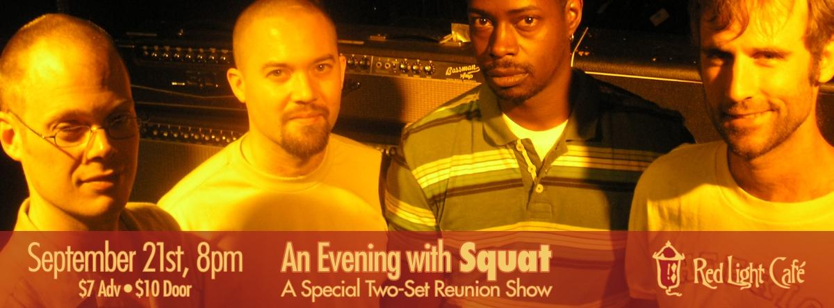 Squat — September 21, 2013 — Red Light Café, Atlanta, GA