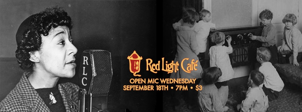 Open Mic Wednesday — September 18, 2013 — Red Light Café, Atlanta, GA