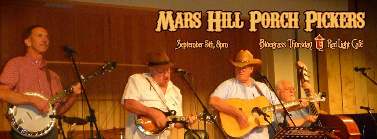 Mars Hill Porch Pickers — September 5, 2013 — Red Light Café, Atlanta, GA