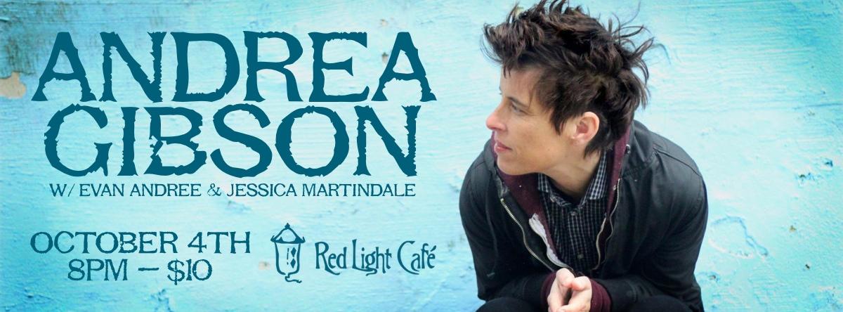 Andrea Gibson — October 4, 2013 — Red Light Café, Atlanta, GA